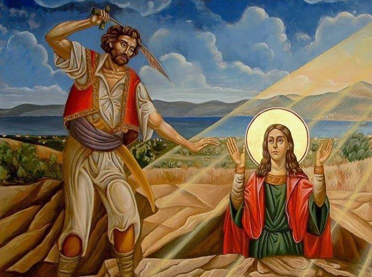 Αγία Μαρκέλλα: Η πολύαθλος και ένδοξος παρθενομάρτυς της Χίου