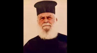 Πρωτοπρεσβύτερος Χριστοφόρος Δημήτριου: π. Γεώργιος· ο θεατής της Παναγίας