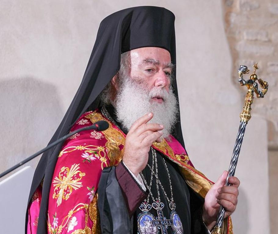 Ο Πατριάρχης Θεόδωρος για τον σεισμό στην Κρήτη