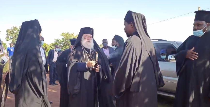 Η άφιξη του Πατριάρχη Αλεξανδρείας σε Μονή της Μποσουάνα